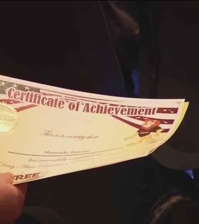 D.A.R.E. Certificate of Achievement