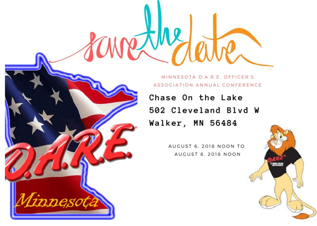 Minnesota D.A.R.E. State Conference 2018 @ Chase on the Lake | Walker | Minnesota | United States