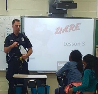 H.B. Rhame Elementary (Columbia, S.C.) D.A.R.E. Program